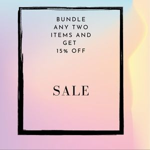 Select any two items in the bundle feature